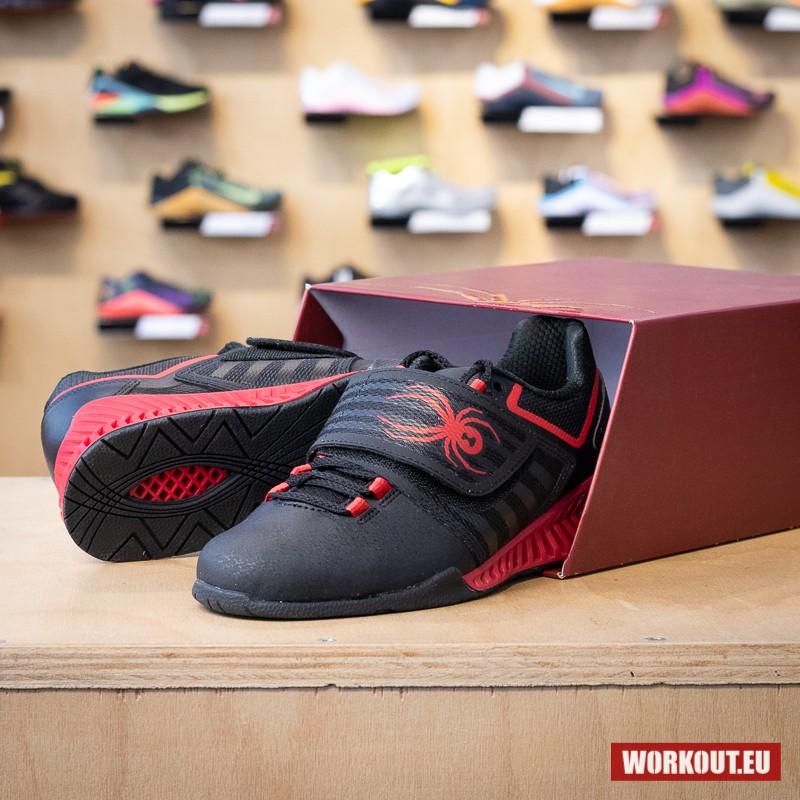 Vzpěračské boty SPYDER TRAPDOOR - černo/červené