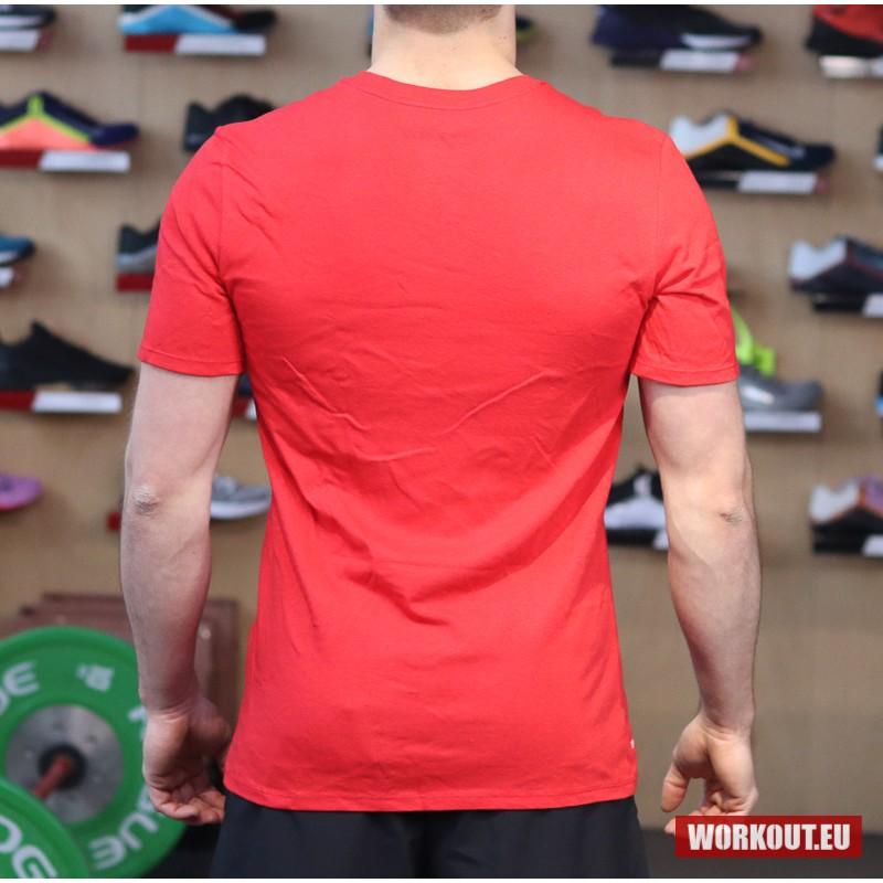 Pánské tričko Nike Weightlifting - Red/Gold
