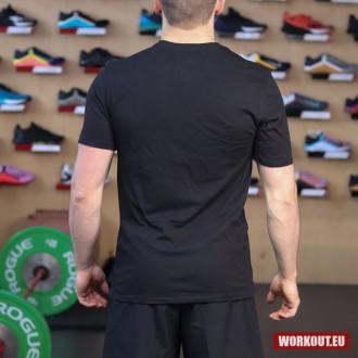 Pánské tričko Nike Tee Clean and Jerk - Black/Red