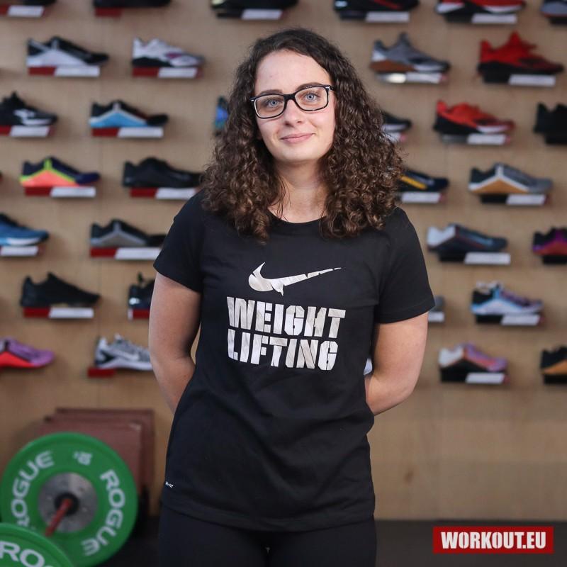 Dámské tričko Nike Weightlifting - Černé