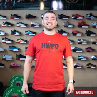 Pánské tričko Nike HWPO - červené