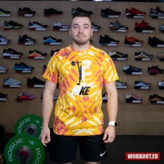 Pánské tričko Nike Dri Fit Festival - Mango