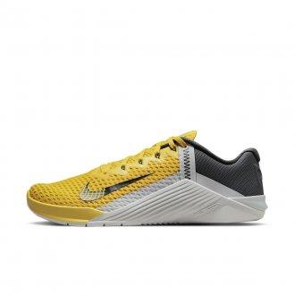 Pánské tréninkové boty Nike Metcon 6 - Citron/Smoke Grey