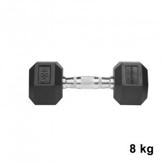 Jednoručka Hexhead Dumbbell Thornfit - 8 kg