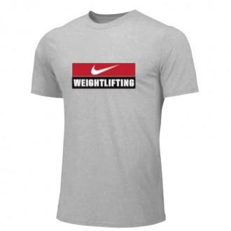 Pánské tričko Nike Weightlifting - Šedé