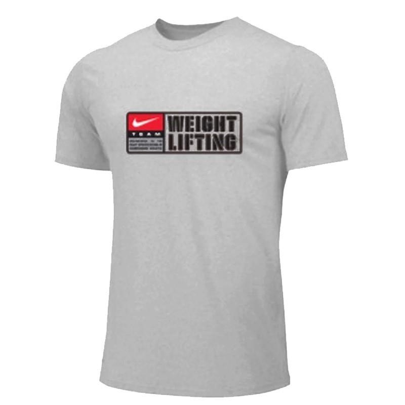 Pánské tričko Nike Weightlifting Team - Šedé