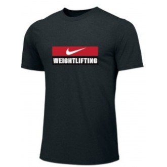 Pánské tričko Nike Weightlifting - Černé