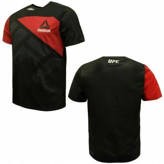 Pánské tréninkové tričko UFC black/red
