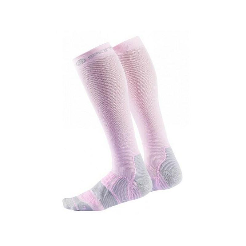 Kompresní podkolenky Skins Essentials Pink