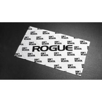 Ručník Rogue Dont weaken - bílý