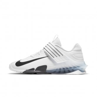 Vzpěračské boty Nike Savaleos - White/Black-Iron Grey
