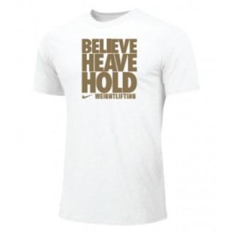 Dámské tričko Nike Believe heave hold - bílé