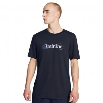 Pánské tričko Swoosh Training - obsidian