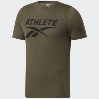 Pánské tričko Reebok Athlete Tee - zelené