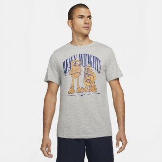 Pánské tričko Nike heavy weight - šedé