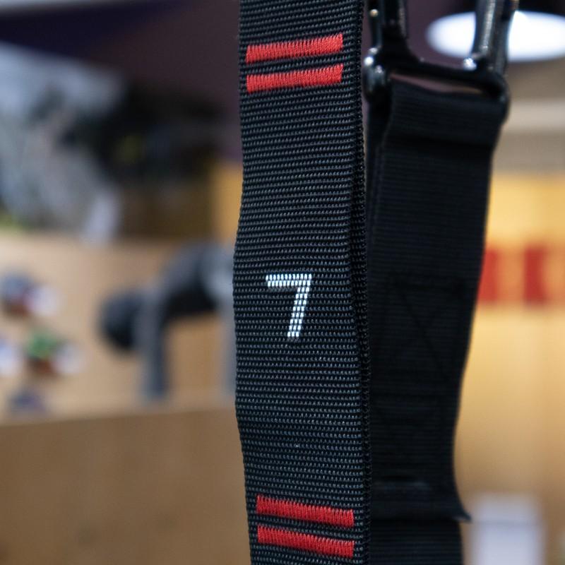 Závodní gymnastické kruhy WORKOUT 32 mm