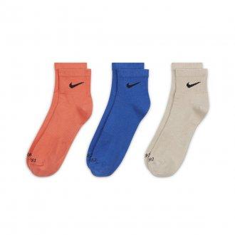 Ponožky Nike Everyday Lightweight - 3 páry (barevné)