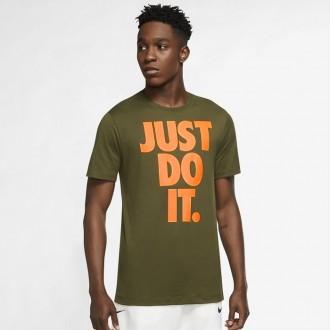 Pánské tričko Nike Sportswear - Just do it - zelené