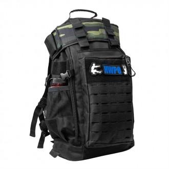 Taktický batoh WORKOUT Pro - 50 l - černý