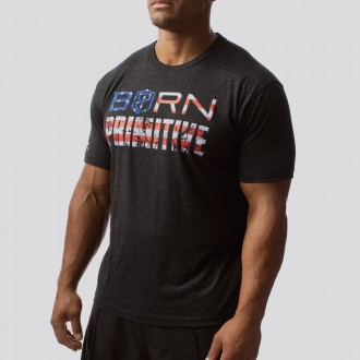 Pánské tričko The Patriot Brand Tee (Black)