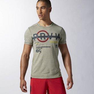 Pánské tričko Reebok CrossFit SS TRIGRAP2 AA1144