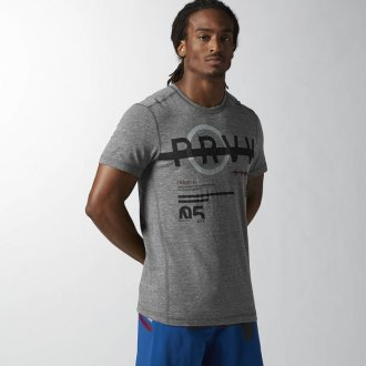 Pánské tričko Reebok CrossFit SS TRIGRAP2 AB4919