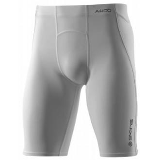 Pánské kompresní poloviční kalhoty Skins Bio A400 White