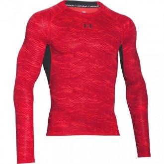 Pánské kompresní triko Under Armour červené