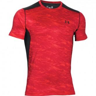 Pánské běžecké tričko Under Armour červené