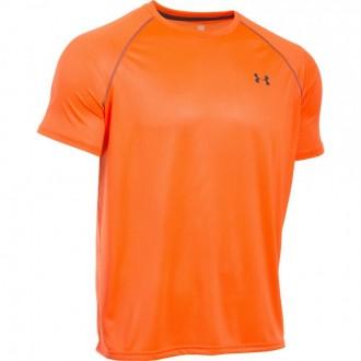 Pánské triko Under Armour s potiskem oranžové