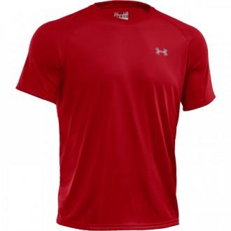 Pánské funkční triko Under Armour tmavě červené