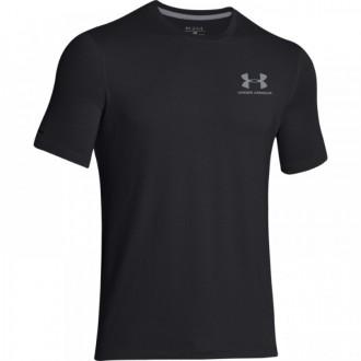 Pánské sportovní triko Under Armour Left šedočerné