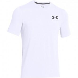 Pánské sportovní triko Under Armour Left bílé