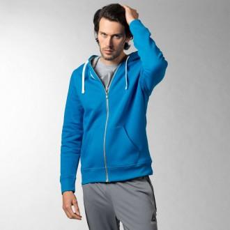 Pánská mikina Reebok Elements Fleece Full Zip Hoodie AY1612