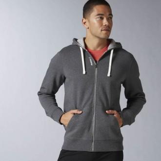 Pánská mikina Reebok Elements Fleece Full Zip Hoodie AJ3175