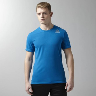 Pánské triko Reebok Workout Ready Stacked Logo Supremium Tee AY3