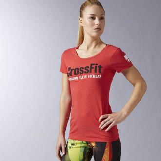 Dámské triko Reebok CrossFit Forging Elite Fitness Tee AY1009