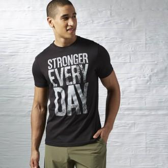 Pánské triko Reebok Stronger Everyday Graphic Tee AX8216