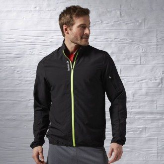 Pánská bunda Reebok Running Essentials Woven Jacket AX9802