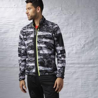 Pánská bunda Reebok Running Essentials Woven Jacket AX9810