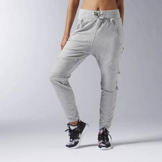 Dámské kalhoty Reebok DANCE Knit Moto Pant S93784