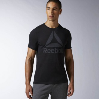 Pánské triko Reebok Workout Ready Big Logo Supremium Tee S95487