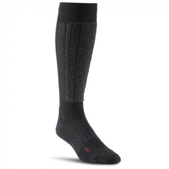 Podkolenky Reebok CrossFit Unisex Compression Knee Sock 1p AY027