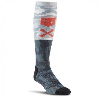 Pánské podkolenky Reebok CrossFit Mens Printed Knee Sock 1p AY05