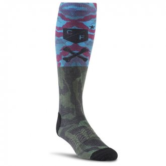 Podkolenky CrossFit Mens Printed Knee Sock 1p AY0555