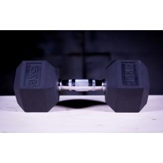 Jednoruční činky 15 kg