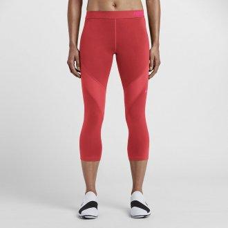 Legíny Nike PRO HYPERCOOL CAPRI MANDARIN