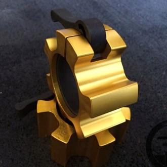 Zlaté FF spony na osy