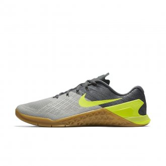 Pánské tréninkové boty Nike Metcon 3 grey/volt- DOPRAVA ZDARMA