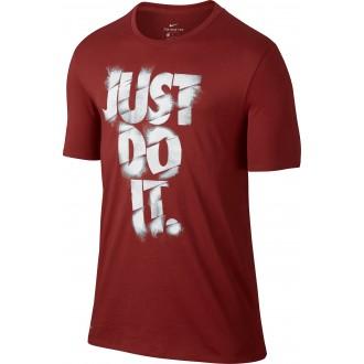 Pánské tričko Just do it - červené